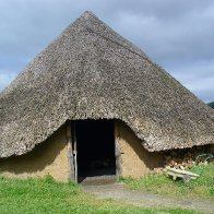 Archaeolink replica roundhouse