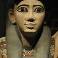An Egyptian face from the past