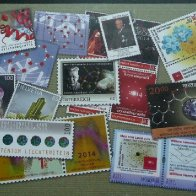 iucr2014 collage of 13 stamps