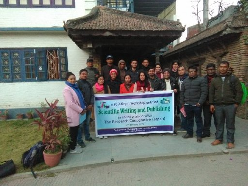 Workshop on Scientific Writing and Publishing (WSWP)